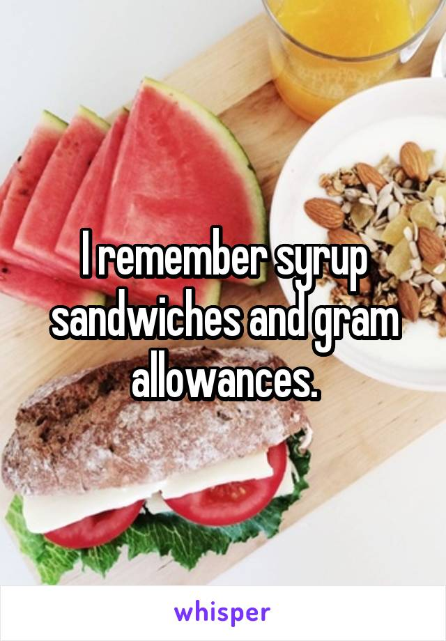 I Remember Syrup Sandwiches And Gram Allowances You can freeze the sandwiches to make ahead too! i remember syrup sandwiches and gram allowances
