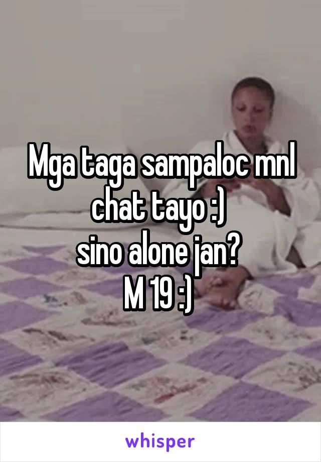 Chat tayo