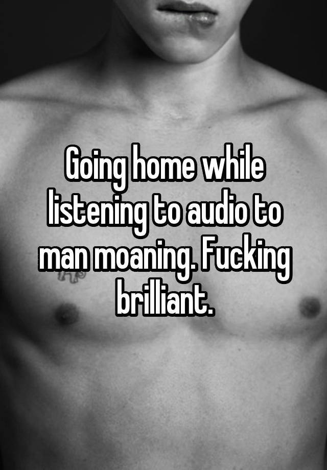 Man Jerking Off Moaning
