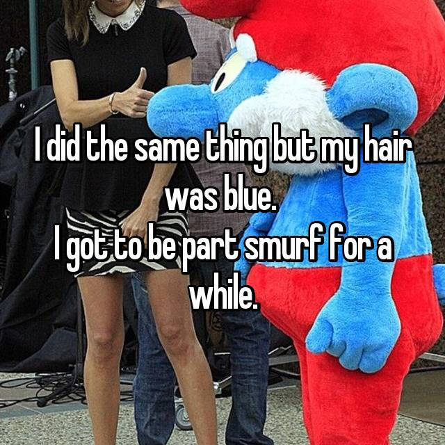I did the same thing but my hair was blue.  I got to be part smurf for a while.