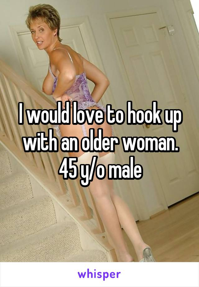 How to hook up with older women