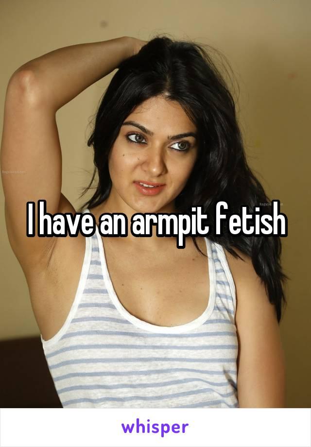 Armpit fetish sites