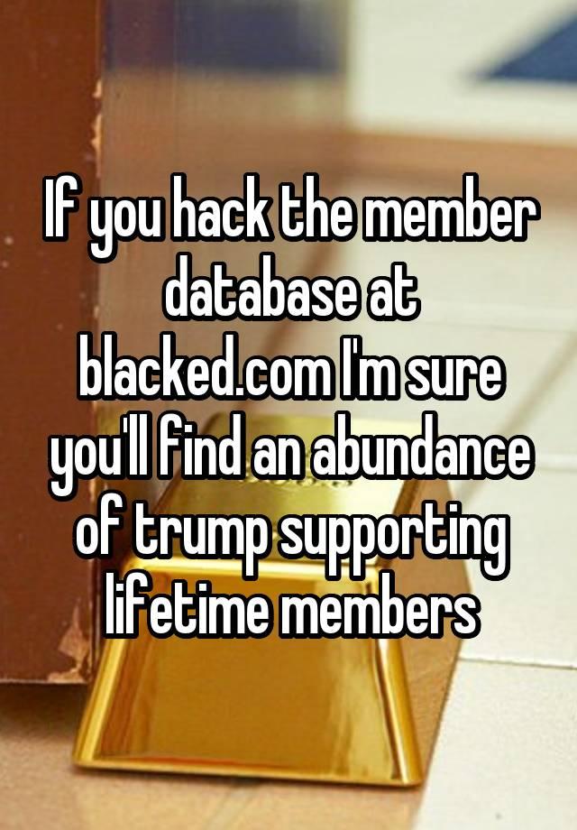 Members blacked com