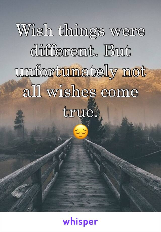 Were Different it is True