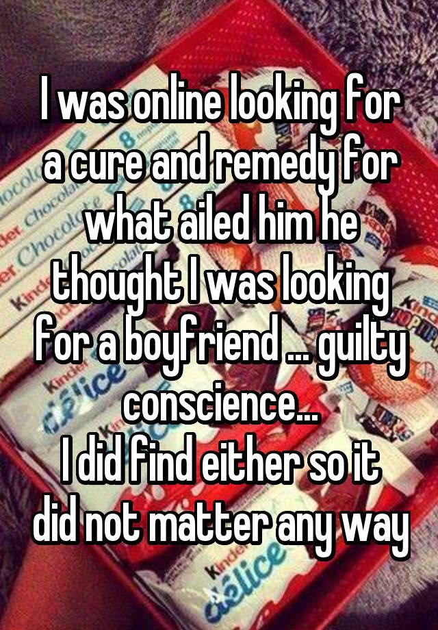 looking for a boyfriend online