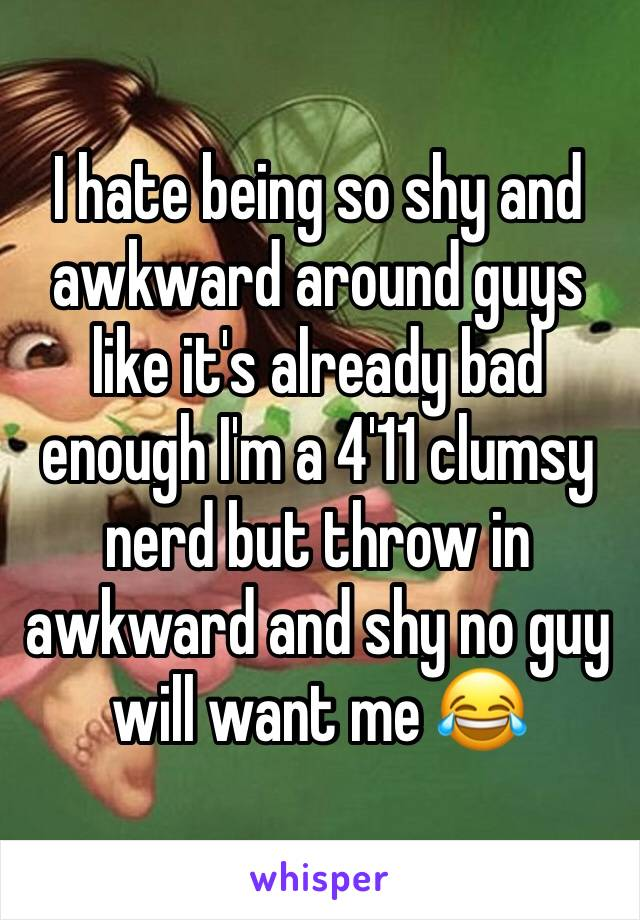 How to not be awkward around guys