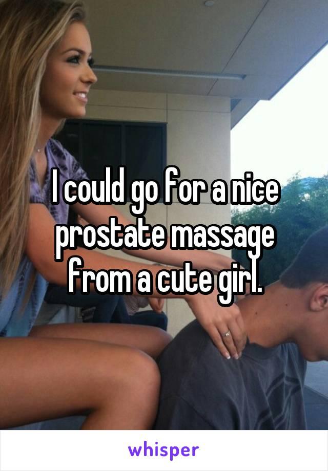 prostate massage Girl