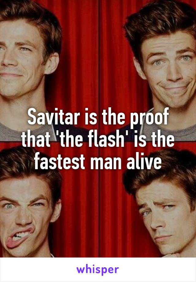 Savitar is the proof that 'the flash' is the fastest man alive