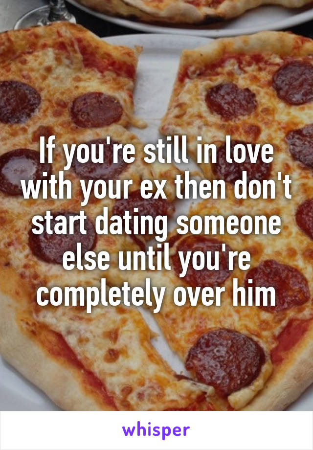 How to tell your ex youre dating someone else