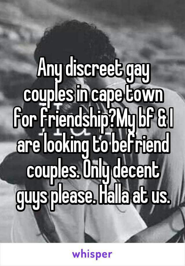 Discreet couples