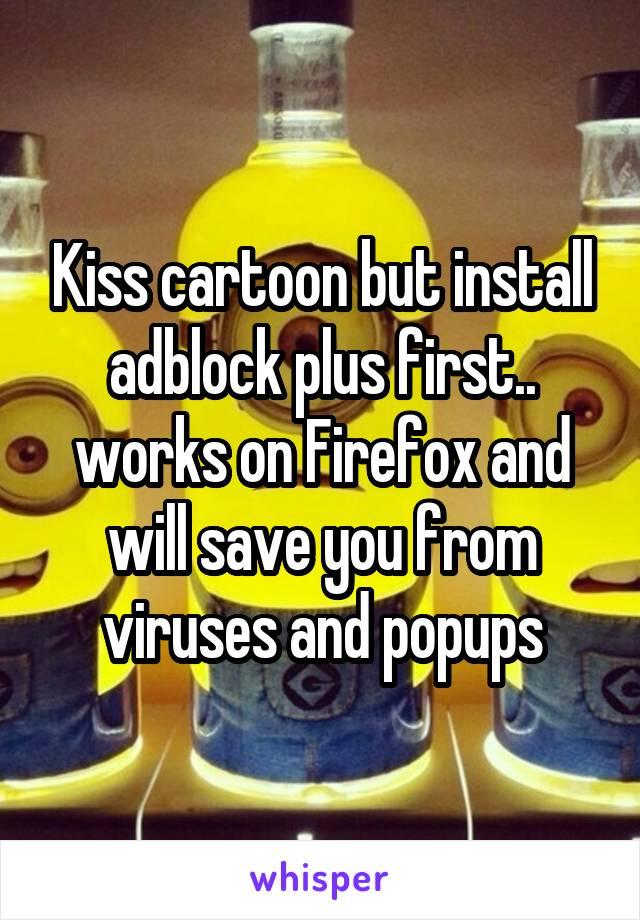 Kisscartoon adblock