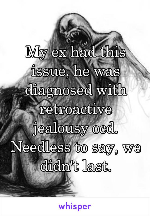 Ocd and jealousy