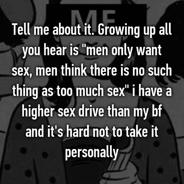 when men only want sex