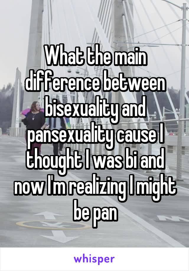 Bi-sexuality causes