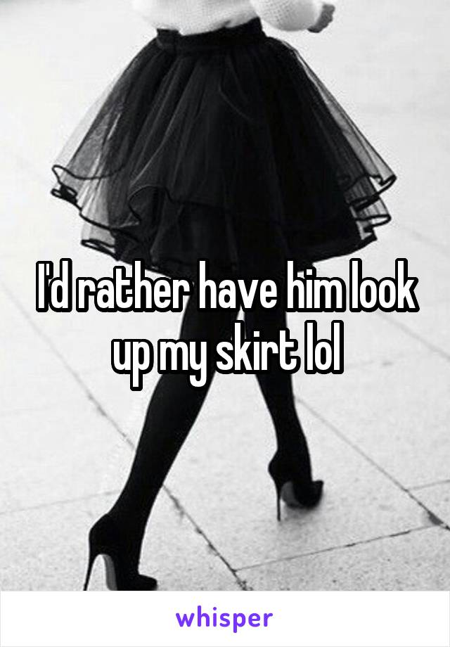Interesting. Prompt, look up my skirt with captions commit error