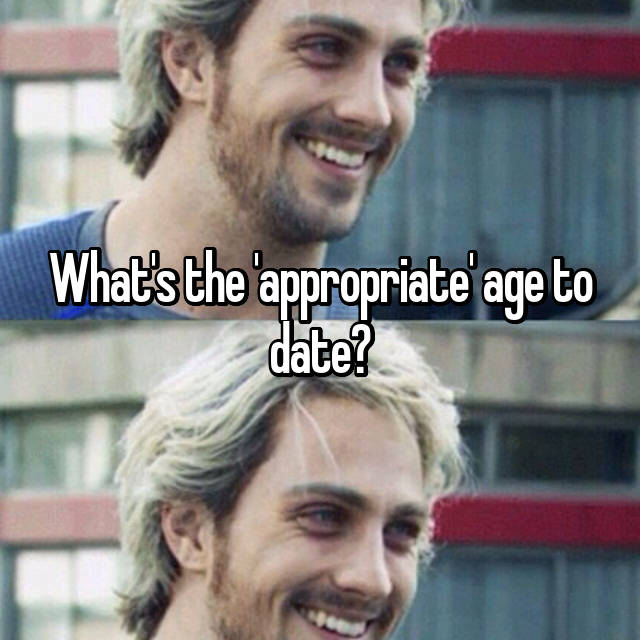 what is the appropriate age to date