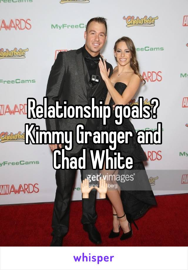 Chad white kimmy granger married