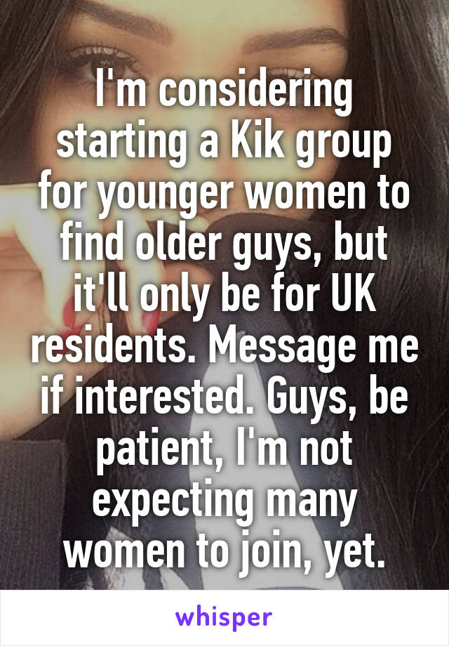 How to find women on kik