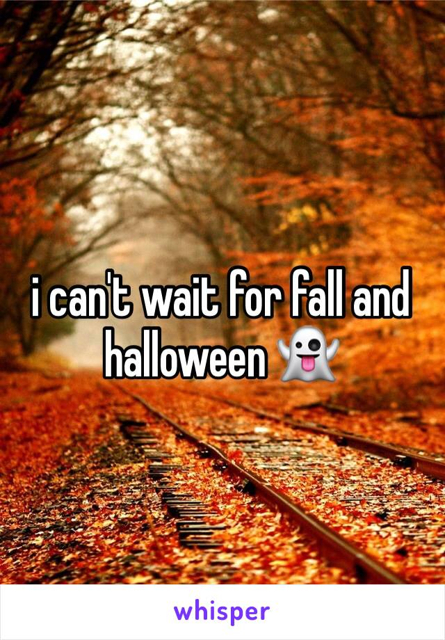 i can't wait for fall and halloween 👻