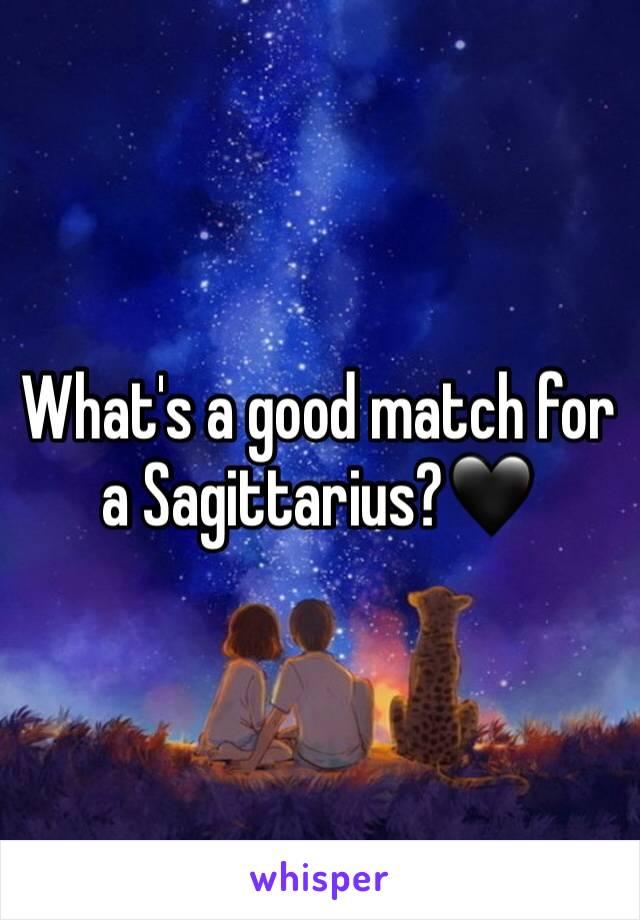 What's a good match for a Sagittarius?🖤