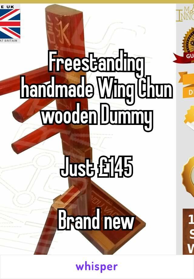 Freestanding handmade Wing Chun wooden Dummy  Just £145  Brand new