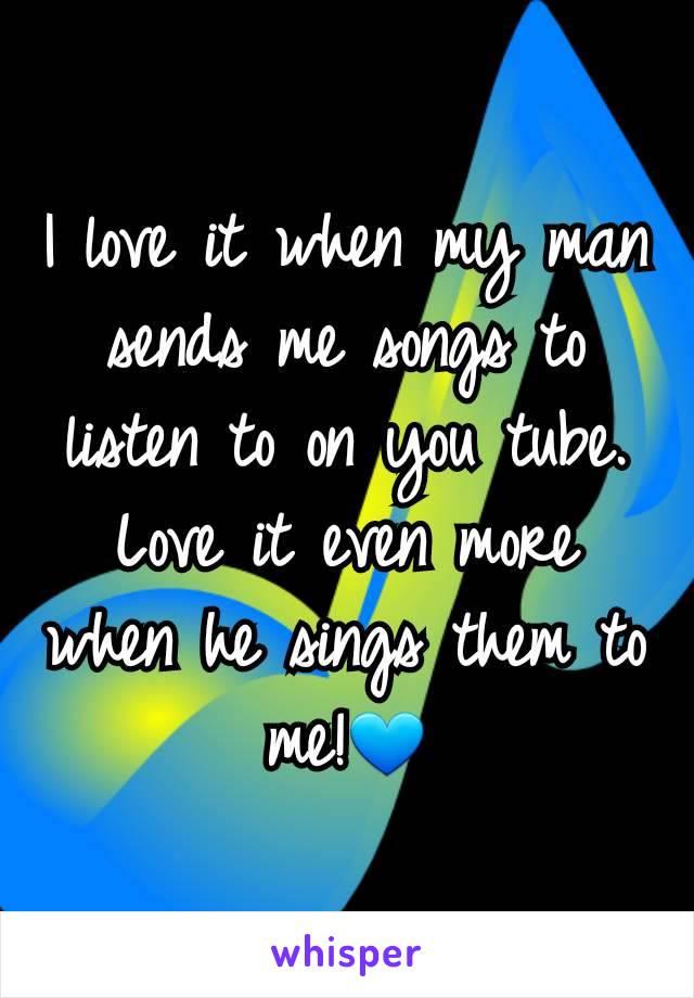 love my man songs