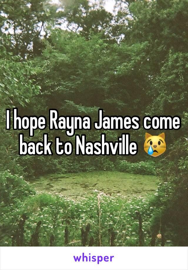 I hope Rayna James come back to Nashville 😿