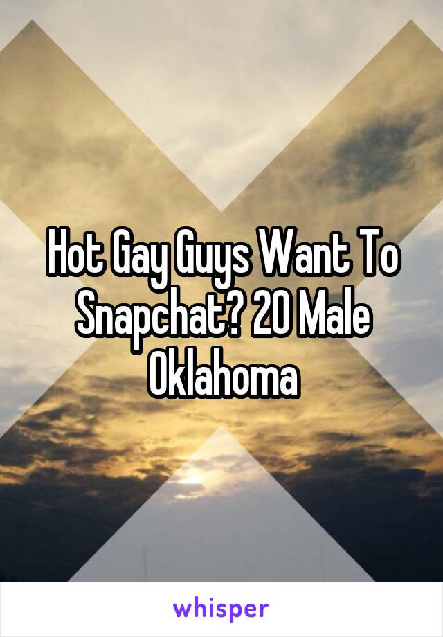 Hot gay guys snapchat