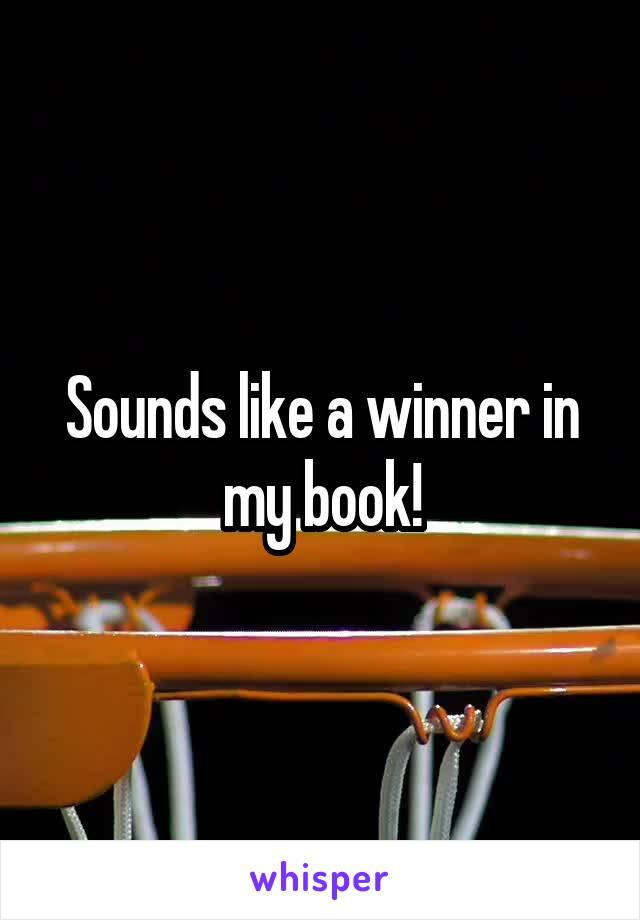Sounds like a winner in my book!