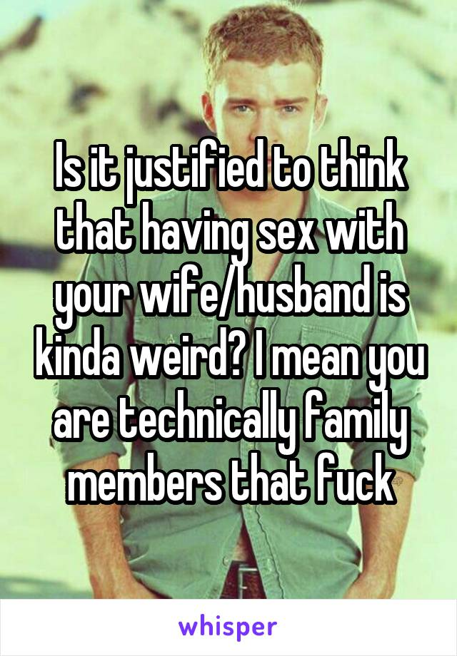 Fuck mean wife