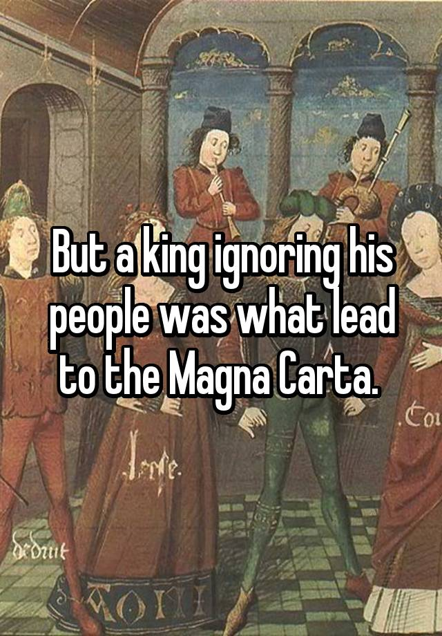 Image result for king ignoring the people