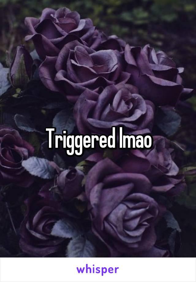 Triggered lmao