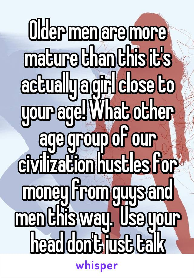 Girls more mature than guys