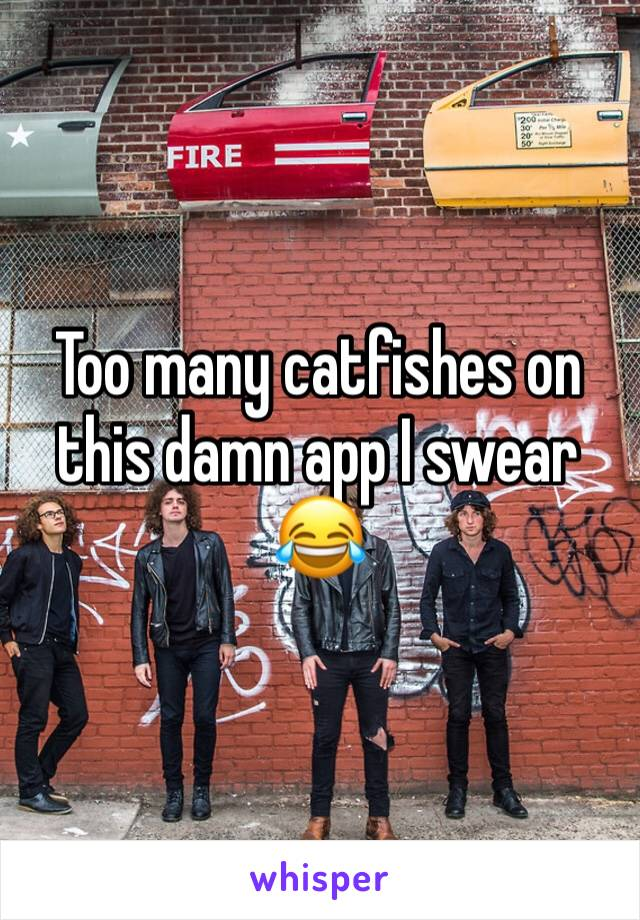 Too many catfishes on this damn app I swear 😂