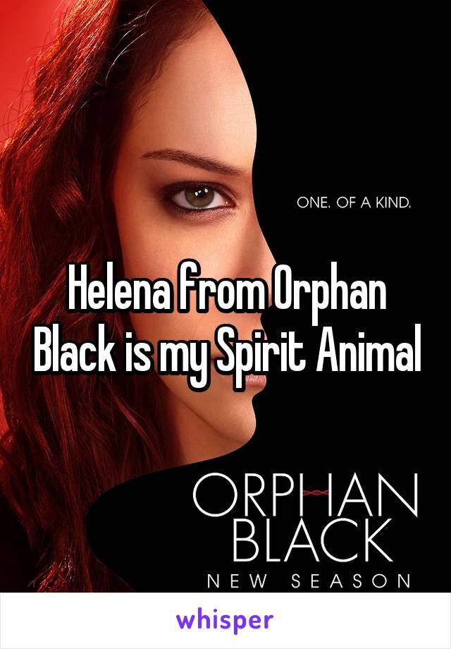 Helena from Orphan Black is my Spirit Animal