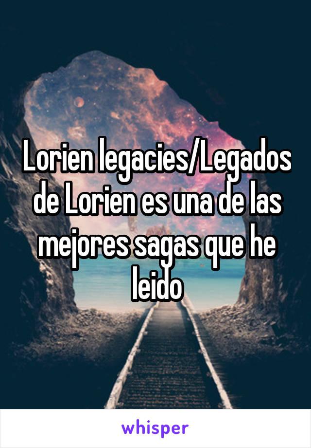 Lorien legacies/Legados de Lorien es una de las mejores sagas que he leido