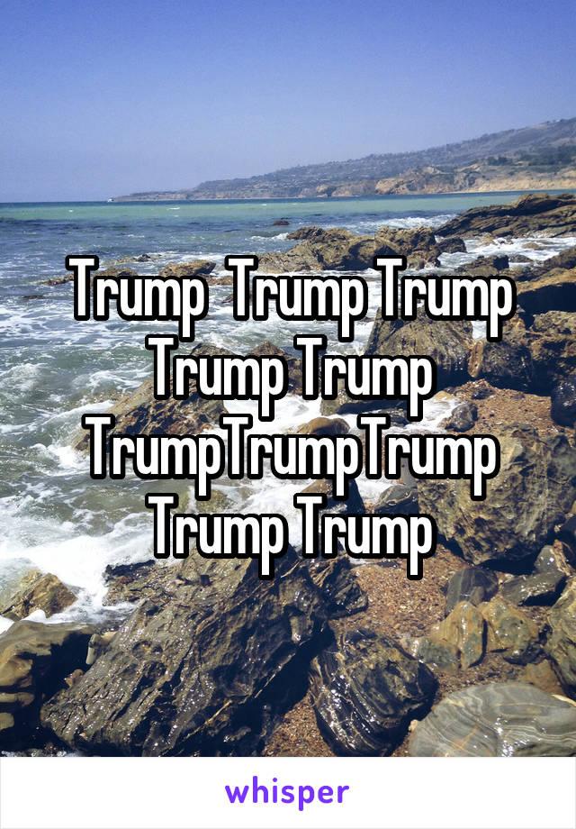 Trump  Trump Trump Trump Trump TrumpTrumpTrump Trump Trump