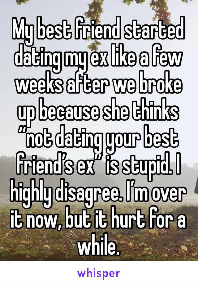 Not dating your best friend