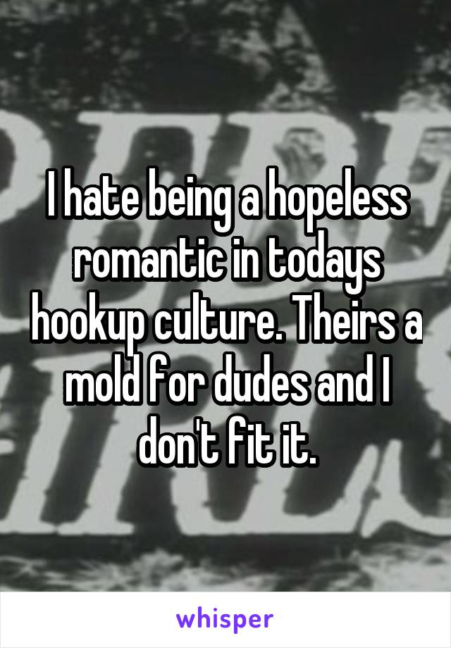 hate hookup culture