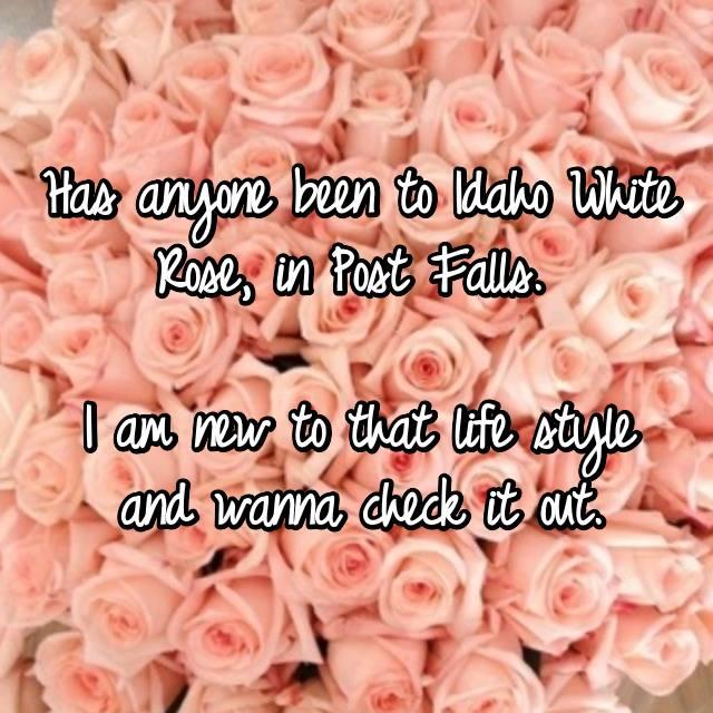 white rose post falls
