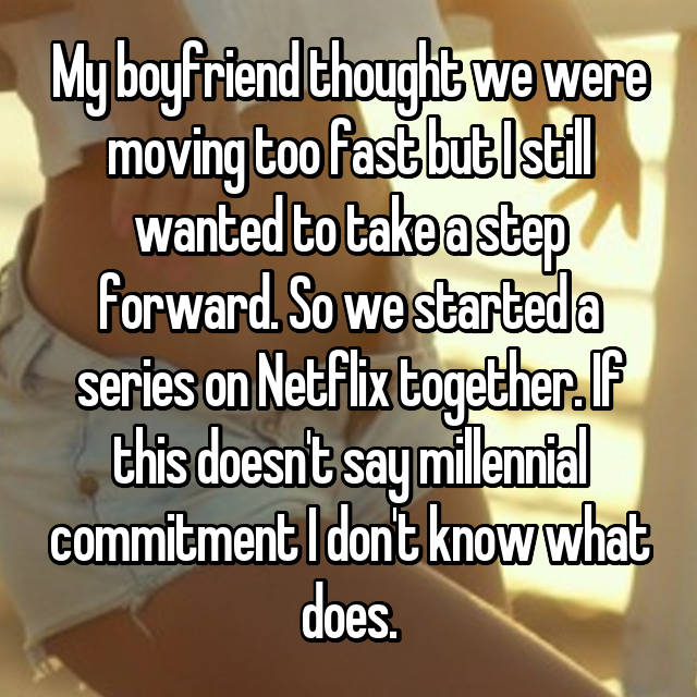 what is considered moving too fast in a relationship