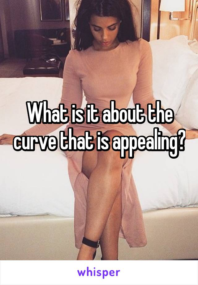 What is it about the curve that is appealing?