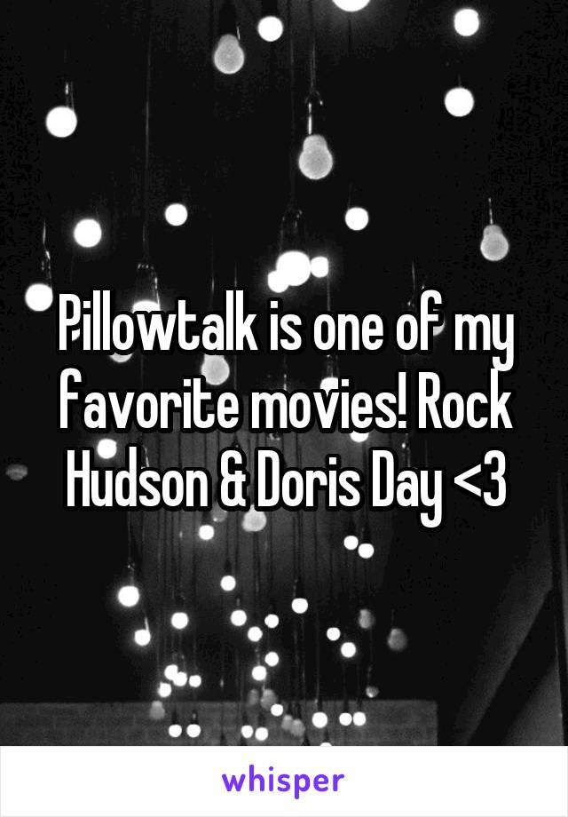 Pillowtalk is one of my favorite movies! Rock Hudson & Doris Day <3