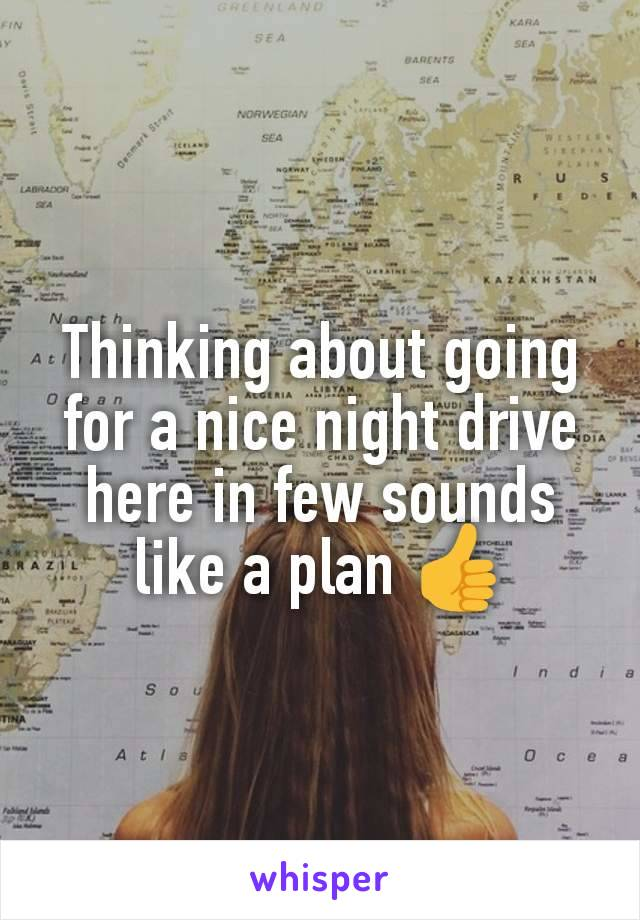 Thinking about going for a nice night drive here in few sounds like a plan 👍