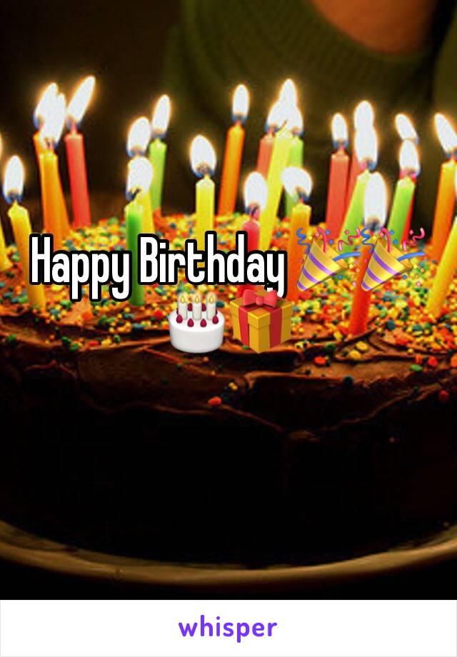 Happy Birthday 🎉🎉🎂🎁