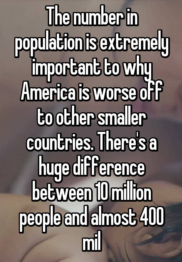 overpopulation is bad but over consumption is worse Conditions in other parts of the world are so bad they as much as i would agree over-consumption is presumeably from the ravages of over-population.