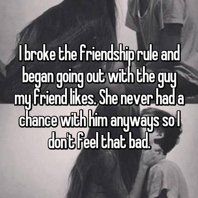 Im secretly dating my best friends crush