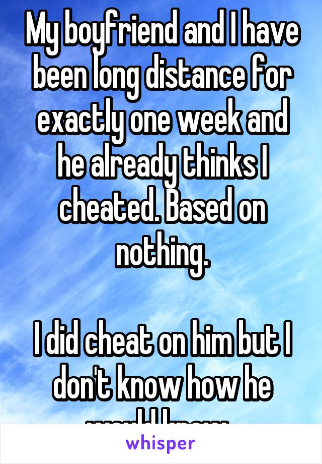 Meet 21 People Who Openly Admit To Cheating In Their Long