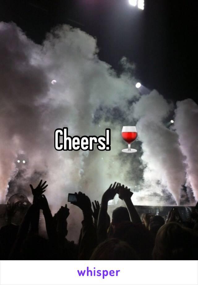 Cheers! 🍷
