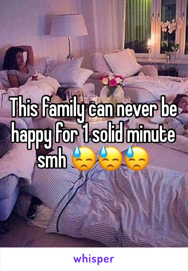 This family can never be happy for 1 solid minute smh 😓😓😓